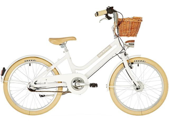 """Ortler Bricktown Børnecykel 20"""" hvid"""